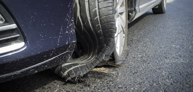 truck tire blowout accidents