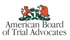 American Board of Trial Advocats